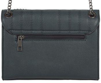styleBREAKER Damen Umhängetasche mit Ziernähten und Kette, Schultertasche, Handtasche, Tasche 02012308 – Bild 44