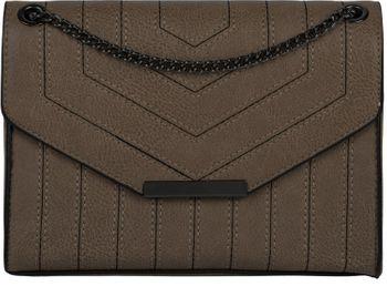 styleBREAKER Damen Umhängetasche mit Ziernähten und Kette, Schultertasche, Handtasche, Tasche 02012308 – Bild 70