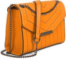 styleBREAKER Damen Umhängetasche mit Ziernähten und Kette, Schultertasche, Handtasche, Tasche 02012308 – Bild 7