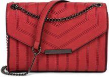 styleBREAKER Damen Umhängetasche mit Ziernähten und Kette, Schultertasche, Handtasche, Tasche 02012308 – Bild 22