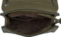 styleBREAKER Damen Umhängetasche mit Ziernähten und Kette, Schultertasche, Handtasche, Tasche 02012308 – Bild 56