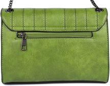 styleBREAKER Damen Umhängetasche mit Ziernähten und Kette, Schultertasche, Handtasche, Tasche 02012308 – Bild 81