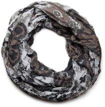 styleBREAKER all over floral print loop tube scarf 01014027 – Bild 3