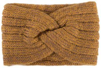 styleBREAKER Damen Strick Stirnband mit Rippen Muster, Twist Knoten, warmes Winter Haarband, Headband 04026041 – Bild 7