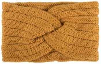styleBREAKER Damen Strick Stirnband mit Rippen Muster, Twist Knoten, warmes Winter Haarband, Headband 04026041 – Bild 19