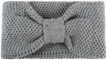styleBREAKER Damen Strick Stirnband mit Knoten und Perl Strickmuster, Knotendesign, Haarband, Headband 04026042 – Bild 3