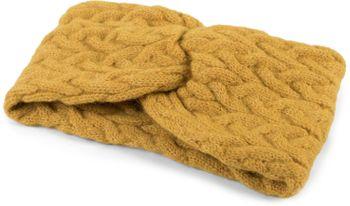 styleBREAKER Damen Strick Stirnband mit Zopfmuster und Twist Knoten, warmes Winter Haarband, Headband, gestrickt 04026044 – Bild 6