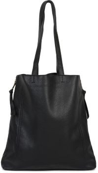 styleBREAKER Damen Tote Bag Handtasche mit seitlichen Reißverschlüssen, Shopper, Schultertasche, Notebook Tasche 02012310 – Bild 6