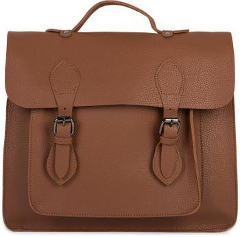 styleBREAKER Multifunktion Messenger Bag Umhängetasche mit Schnallen, Schultertasche, Rucksack, Aktentasche, Unisex 02012312 – Bild 11