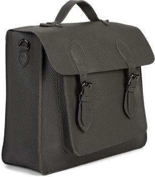 styleBREAKER Multifunktion Messenger Bag Umhängetasche mit Schnallen, Schultertasche, Rucksack, Aktentasche, Unisex 02012312 – Bild 4