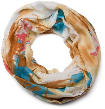 styleBREAKER splat style blur of color patterns loop tube scarf 01018042 – Bild 7