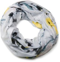 styleBREAKER splat style blur of color patterns loop tube scarf 01018042 – Bild 3