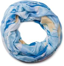 styleBREAKER splat style blur of color patterns loop tube scarf 01018042 – Bild 13