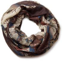 styleBREAKER splat style blur of color patterns loop tube scarf 01018042 – Bild 17