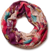 styleBREAKER splat style blur of color patterns loop tube scarf 01018042 – Bild 1