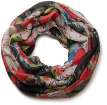 styleBREAKER splat style blur of color patterns loop tube scarf 01018042 – Bild 23