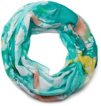 styleBREAKER splat style blur of color patterns loop tube scarf 01018042 – Bild 11