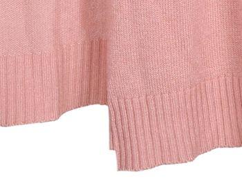 styleBREAKER Damen Feinstrick Cardigan mit aufgesetzten Taschen, Strickjacke ohne Verschluss, Strickmantel, Onesize 08010063 – Bild 16