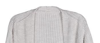 styleBREAKER Damen Grobstrick Cardigan mit aufgesetzten Taschen, Strickjacke ohne Verschluss, Strickmantel, Onesize 08010064 – Bild 22