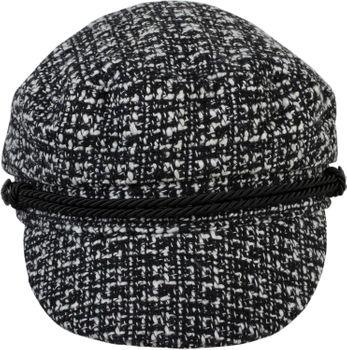styleBREAKER Damen Bakerboy Schirmmütze aus weichem Bouclé Stoff, Ballonmütze, Newsboy Cap 04023067 – Bild 16
