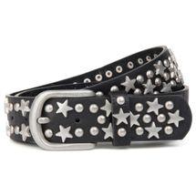 styleBREAKER Nietengürtel mit Sterne und Rundnieten im Vintage Style , kürzbar 03010030 – Bild 10