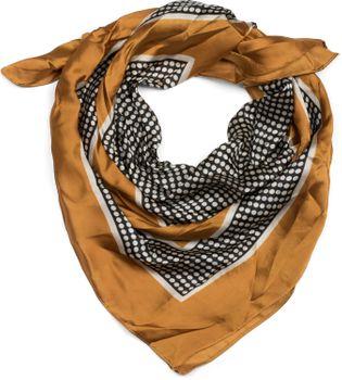 styleBREAKER Damen Dreieckstuch mit Punkten und Farbflächen, Multifunktion Tuch, Halstuch, Kopftuch, Bandana 01016193 – Bild 4