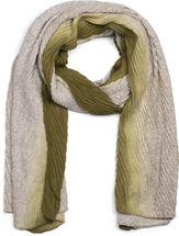 styleBREAKER Damen Schal plissiert mit Farbverlauf und Gitter Muster, Crash Look, Stola, Tuch 01017105 – Bild 16