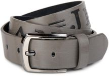 styleBREAKER jeans belt with JEANs embossing and genuine leather, shortened 03010038 – Bild 14