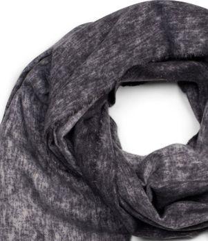 styleBREAKER Unisex weicher melierter Schal mit langen Fransen, Winter, Stola 01017109 – Bild 14