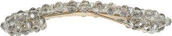 styleBREAKER Damen Haarspange rechteckig mit Kunststoff Perlen und Clipverschluss, Haarklammer, Spange 04027007 – Bild 8