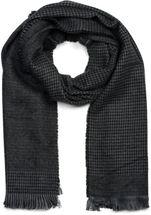 styleBREAKER Unisex Schal mit Hahnentritt Muster und Fransen, Pepita, Winter 01017117 – Bild 13