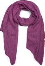styleBREAKER Damen weicher unifarbener Web Schal in asymmetrischer Form, Winter, Stola 01017118 – Bild 25