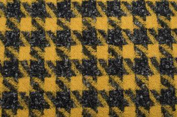 styleBREAKER Damen Schal mit Pepita Karo Hahnentritt Muster und Fransen, Winter, Stola 01017122 – Bild 8