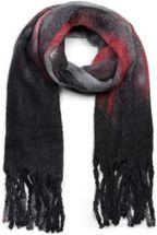 styleBREAKER Damen Web Strickschal mit Streifen Verlauf Muster und langen dicken Fransen, Winter, Stola 01017125 – Bild 13