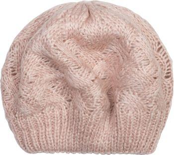 styleBREAKER Damen Strick Baskenmütze mit Zopfmuster, Winter, Barett, Franzosenmütze 04024166 – Bild 4