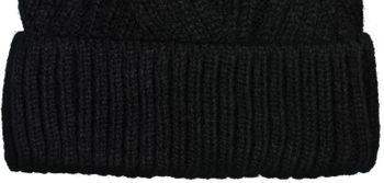 styleBREAKER Damen Strick Bommelmütze mit Rippenstrick Muster und Fleece Futter, Winter Fellbommel Mütze 04024167 – Bild 16