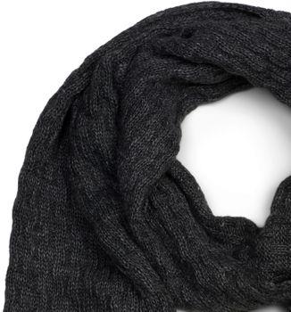 styleBREAKER Unisex einfarbiger Strick Schal mit Flecht Muster, Winter Strickschal 01018161 – Bild 5