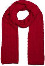 styleBREAKER Unisex einfarbiger Strick Schal mit Flecht Muster, Winter Strickschal 01018161 – Bild 13