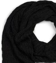 styleBREAKER Unisex einfarbiger Strick Schal mit Flecht Muster, Winter Strickschal 01018161 – Bild 17