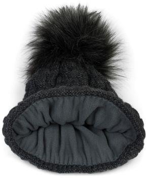 styleBREAKER Unisex Strick Schal und Mütze Set mit Flecht Muster, Thermo-Fleece Innenfutter, Winter 01018212 – Bild 12