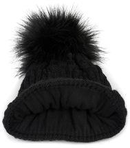 styleBREAKER Unisex Strick Schal und Mütze Set mit Flecht Muster, Thermo-Fleece Innenfutter, Winter 01018212 – Bild 36