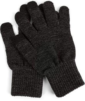 styleBREAKER Unisex Touchscreen Strick Handschuhe mit Karo Strickmuster, warme Strickhandschuhe, Fingerhandschuhe, Winter 09010021 – Bild 21