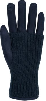 styleBREAKER Damen Touchscreen Stoff Handschuhe mit abnehmbaren Strick Stulpen, warme Fingerhandschuhe, Winter 09010022 – Bild 44