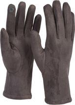 styleBREAKER Damen Touchscreen Stoff Handschuhe mit abnehmbaren Strick Stulpen, warme Fingerhandschuhe, Winter 09010022 – Bild 22