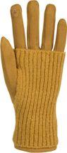 styleBREAKER Damen Touchscreen Stoff Handschuhe mit abnehmbaren Strick Stulpen, warme Fingerhandschuhe, Winter 09010022 – Bild 29