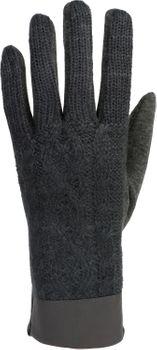 styleBREAKER Damen Touchscreen Handschuhe, Oberseite mit Zopfmuster, Fleece Futter, warme Thermo Fingerhandschuhe, Winter 09010024 – Bild 14