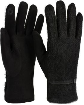 styleBREAKER Damen Touchscreen Handschuhe mit Waben Muster und Fleece Futter, warme Thermo Fingerhandschuhe, Winter 09010026 – Bild 9