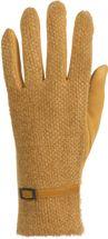 styleBREAKER Damen Touchscreen Handschuhe mit Waben Muster und Fleece Futter, warme Thermo Fingerhandschuhe, Winter 09010026 – Bild 14