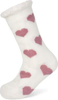 styleBREAKER Damen ABS Stoppersocken mit Teddyfutter und Herzen Muster, ABS-Socken, Größe 35-42 EU / 5-10 US / 4-8 UK 08030007 – Bild 21