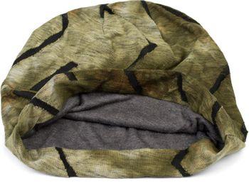 styleBREAKER Unisex Beanie Mütze mit Batik Farbverlauf Muster und Zackenförmigen Rissen im Destroyed Look, Slouch Longbeanie 04024173 – Bild 20